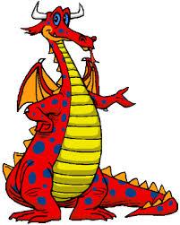 dragons for children friendly clipart 46