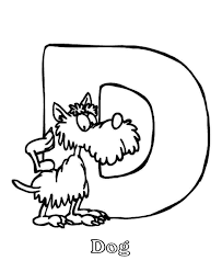 letter d coloring page coloring home