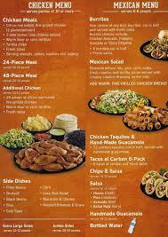 el pollo loco menu menu for el pollo loco sunnyvale sunnyvale