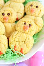 Decorate Easter Cookies Videos by Easter Chicks Lemon Cookies