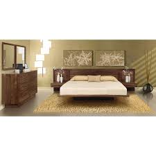 Platform Bed Frame With Headboard Copeland Moduluxe Contemporary Platform Bed Tall Louvered Headboard