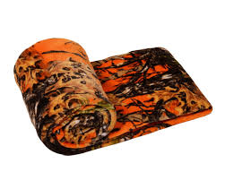Regal Kitchen Pro Collection by Amazon Com The Woods Collection Cashmere Fleece Blanket Orange