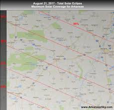 Arkansas State Map With Cities by 2017 Arkansas Solar Eclipse The Arkansas Skydome Planetarium