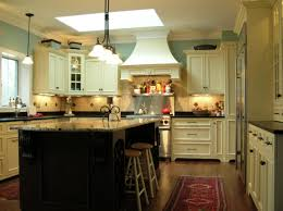 kitchen vintage ivory kitchen cabinet set ideas with black wood