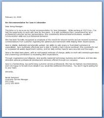 letter of recommendation sle sle research letter of recommendation 28 images communications