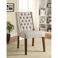 Accent Chair Set Of 2 Accent Seating Accent Chair Side Chair With Tufted Back Pack Of Two