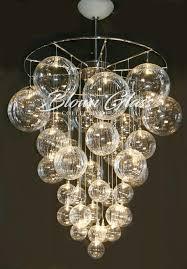 Glass Blown Chandelier Primo Glass Blown Chandelier Lighting For Decor 15