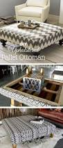 ottomans coffee table with nested ottomans fabric ottoman with