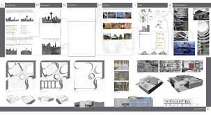 architectural layouts interior design board layout
