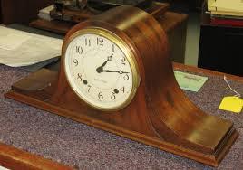 Antique Mantel Clocks Value Seth Thomas Staunton Tambour Mantel Clock 1941 Clockinfo Com