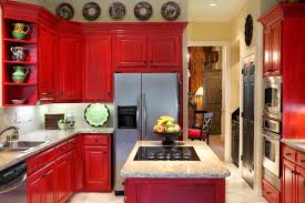 kitchen in spanish kitchen spanish kitchen bright red cabinets