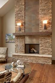 Unique And Beautiful Stone Fireplace by Download Stacked Stone Fireplace Javedchaudhry For Home Design