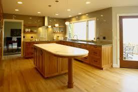 wood raised door merapi eat in kitchen island backsplash cut tile