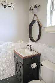 diy farmhouse bathroom fair vanity bathrooms regarding ideas 13