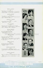 cat high yearbook pa kingston 1929 kingstonian high school yearbook