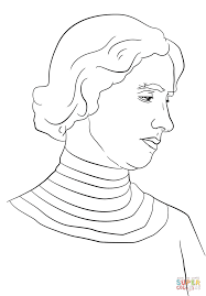 helen keller coloring page free printable coloring pages