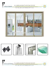 factory direct aluminum door simple comfortable ready made