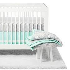 Pink Gray Crib Bedding Pink Damask Crib Bedding Target