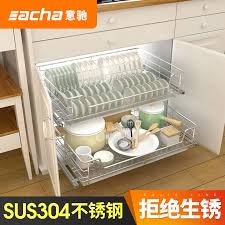 buy deke de home kitchen cabinets baskets 304 stainless steel dish