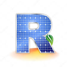 solar panels clipart solar panels texture alphabet uppercase letter r icon or symbol