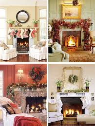 Fireplace Decorations Ideas 40 Christmas Fireplace Mantel Decoration Ideas