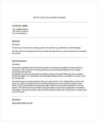 Resume Sample For Accountant Position by 31 Accountant Resume Designs Free U0026 Premium Templates