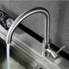 online buy wholesale stainless steel kitchen faucet from china sus304 stainless steel kitchen faucet rotation brushed nickel hot and cold kitchen faucet caipen sink kitchen
