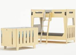 Crib Loft Bed Casa Crib Ingeniously Converts To Toddler Bed Bed
