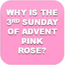 Advent Candle Lighting Readings Why Is The Third Sunday Of Advent Pink Why Is The Third Candle