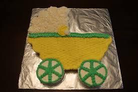 baby carriage cake a baby buggy cupcake cake la hoot bakery