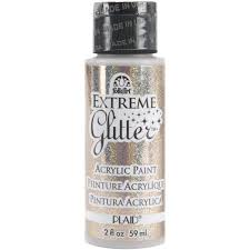 amazon com folkart extreme glitter acrylic paint in assorted