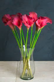 Artificial Lilies In Vase Silk Flowers Sprays Leis U0026 Bouquets Saveoncrafts