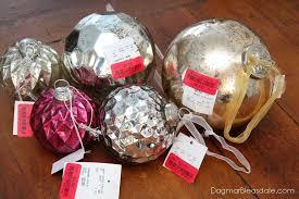 mantel decor with mercury glass ornaments link 197