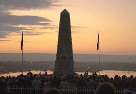 thanksgiving prayer service at the end of the year anzac day wikipedia