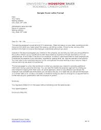 Examples Of Cover Letters For Resume by Cover Letter Format Creating An Executive Cover Letter Samples