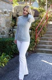 womens handmade aran knit sweater aran sweater wool pullover