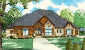 european house plan european house plan with vaulted great room 60699nd