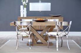 Dining Room Furniture For Small Spaces Sunpan Madero Dining Table Big Style For Small Spaces