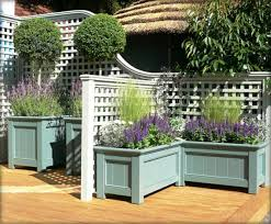 planter box with trellis u2013 interesting exterior solutions hum ideas