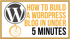 tutorial wordpress blog how to build a wordpress blog in under 5 minutes wordpress