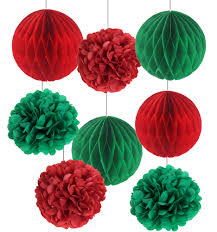 aliexpress com buy pack of 8 christmas decorations red green