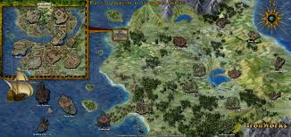 The Forest Game Map Bg2 Map Vs Realms Map U2014 Beamdog Forums
