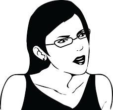 Seriously Meme Face - female seriously glasses jpg