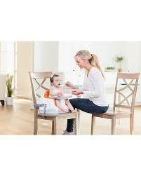 rialzi sedie per bambini bumbo multi seat sedile rialzo per bambini con vassoio arancio