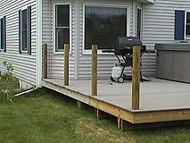 Installing A Banister How To Install Pvc Synthetic Handrails For A Deck Or Porch