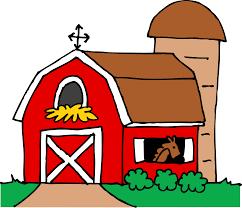 Red Barn Door by Barn Door Clipart 11