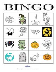 Halloween Bingo Printable Free by Halloween Bingo 4 4