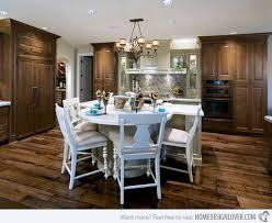 kitchen islands with tables attached kitchen island with table attached home planning ideas 2017