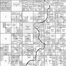 pine valley township 24n range 2w plat map clark county wisconsin
