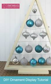 craftaholics anonymous diy ornament display tree tutorial